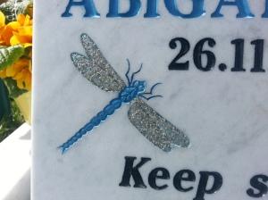 Abi's bespoke dragonfly