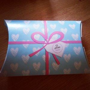 Box of girls' goodies
